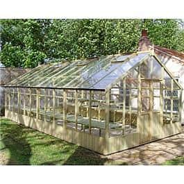 Swallow GB Ltd Falcon Pressure Treated Wooden Greenhouse