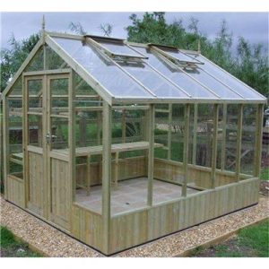 Swallow GB Ltd Raven Pressure Treated Greenhouse