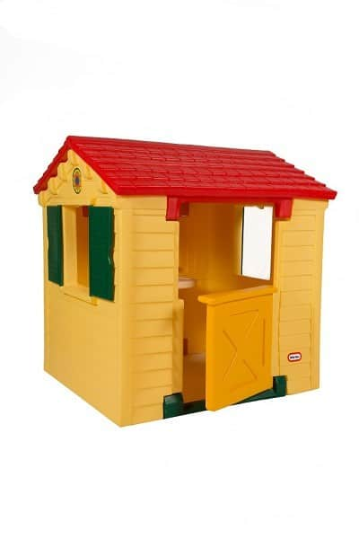 THE LITTLE TIKES NATURAL PLAYHOUSE side
