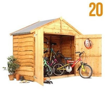 The Billy Oh Overlap Bike Storage Shed