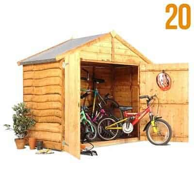 The BillyOh 4 x 6 Bicycle Store