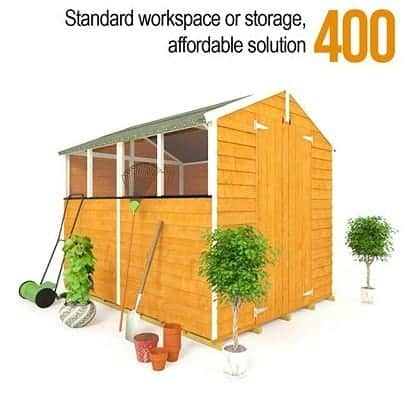 The BillyOh 400 Standard Overlap Garden Shed