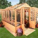 The BillyOh 4000 Lincoln Wooden Greenhouse