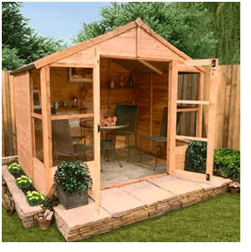 The BillyOh 4000 Tete a Tete Tongue & Groove Summerhouse