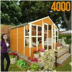 The BillyOh 4000 Wooden Log Cabin Summerhouse Tete a Tete