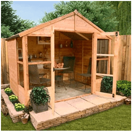 The BillyOh 4000L Tete a Tete Tongue & Groove Summerhouse