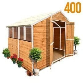 The BillyOh 4000S Kent Wooden Garden Shed