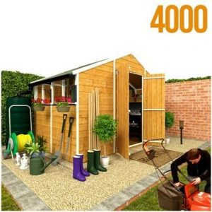 The BillyOh 4000XL Lincoln Workshop Tongue & Groove Garden Shed