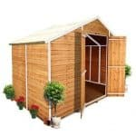 The BillyOh 400M Windowless Lincoln Overlap Apex Shed