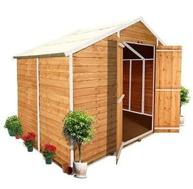 The BillyOh 400M Windowless Overlap Apex Garden Shed