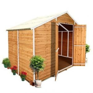 The BillyOh 400M Windowless Overlap Apex Shed