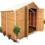 The BillyOh 400XL Windowless Lincoln Overlap Workshop shed