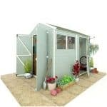 The BillyOh 5000 Gardener's Retreat Premium Tongue & Groove Single and Double Door Apex Shed