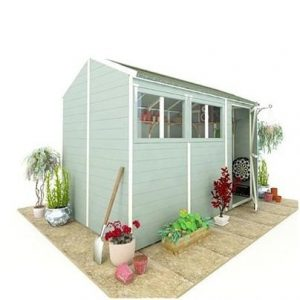 The BillyOh 5000 Gardener's Retreat Shed