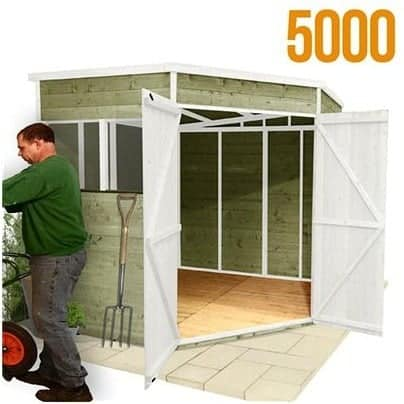 The BillyOh 5000 Gardeners Corner Premium Tongue & Groove Shed
