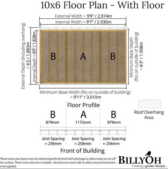 The BillyOh 5000 Pent Sanctuary Summerhouse