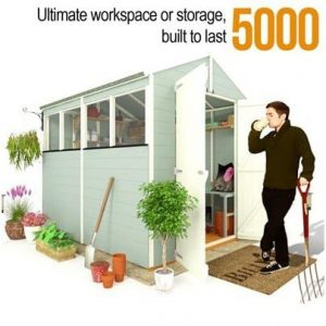 The BillyOh 5000 Ultimate Tongue and Groove Shed