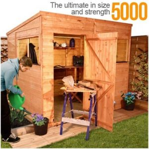 The BillyOh 5000M Greenkeeper Premier Tongue and Groove Pent Shed