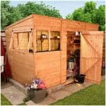 The BillyOh 5000M Greenkeeper Premium Tongue & Groove Pent Shed