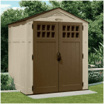 The BillyOh Adlington Four Plastic Shed