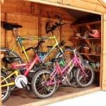 The BillyOh Apex Bike Store 3 X 7 Internal View