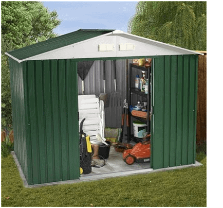 billyoh sheds billyoh ballington metal shed. Black Bedroom Furniture Sets. Home Design Ideas