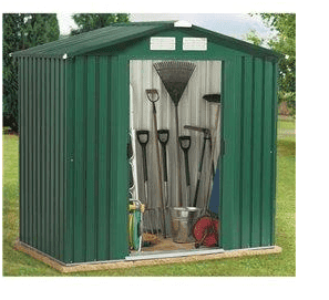 The BillyOh Beeston Metal Shed with Tongue & Groove Wooden Flooring