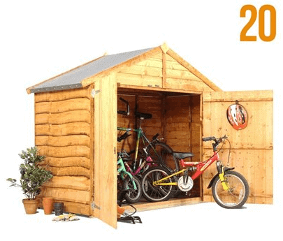 The BillyOh Bicycle Storage Shed