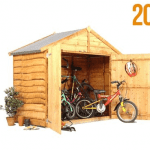 The BillyOh Bike Storage Shed