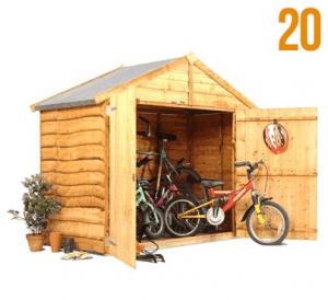 The BillyOh Bike Storage Shed