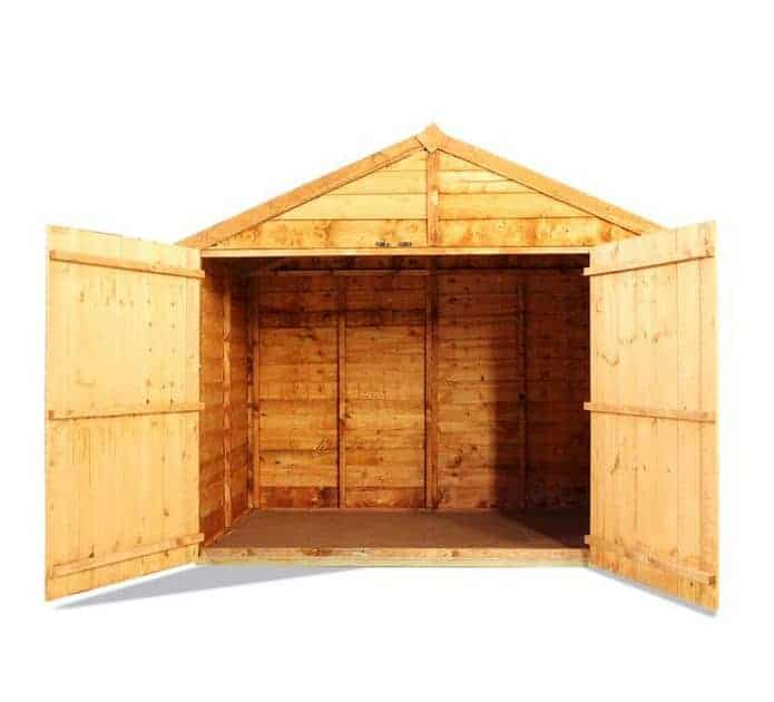 The billyoh bike storage shed 4 x 6 for Garden shed 6 x 4