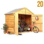 The BillyOh Bike Storage Shed..
