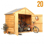 The BillyOh Bike Storage Shed001
