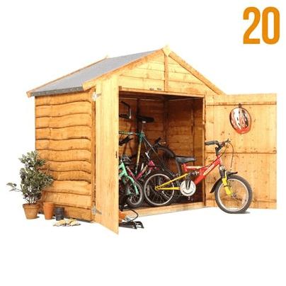 The BillyOh Bike Storage Shed001
