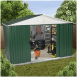 The BillyOh Carrington Metal Shed