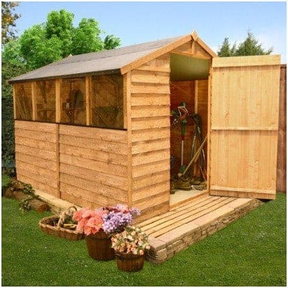 The BillyOh Classic 30 Popular Value Overlap Apex Garden Shed