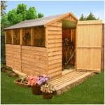 The BillyOh Classic 300 Popular Apex Garden Shed