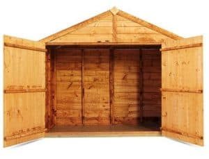 The BillyOh Cycle Storage Shed Front View