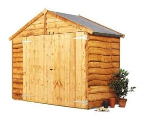 The BillyOh Cycle Storage Shed Side View