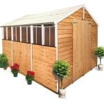 The BillyOh Lincoln 400 Overlap Double Door Apex Garden Shed