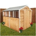 The BillyOh Lincoln 400 Popular Overlap Double Door Apex Garden Shed