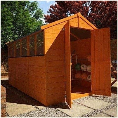 The BillyOh Lincoln 4000 Popular Tongue & Groove Double Door Apex Garden Shed
