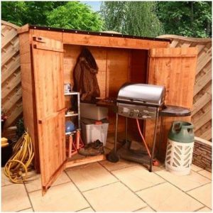 The BillyOh Mega Store Tongue and Groove Pent Garden Storage Unit