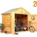 The BillyOh Overlap Bike Storage Shed