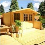 The BillyOh Pathfinder Lodge Log Cabin