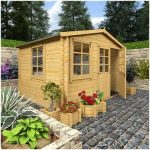 The BillyOh Pathfinder Sportsman Log Cabin