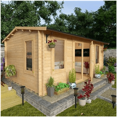 The BillyOh Premium Dorset III Summerhouse