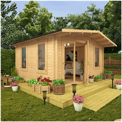 The BillyOh Premium Montana II Summerhouse