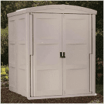 The BillyOh Suncast Adlington One Plastic Shed