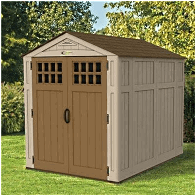 The BillyOh Suncast Plastic Shed